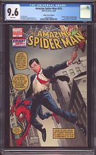 MARVEL  AMAZING SPIDER-MAN  # 573 CGC-GRADED 9.6 NEAR MINT+  STEPHEN COLBERT