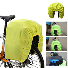 Reflective Waterproof Bicycle Cycling Bike Rear Rack Pack Bag Dust Rain Cover 00