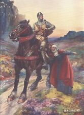 William Wallace Braveheart Repro Art Print 1906 7x5 inches