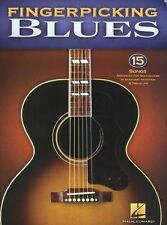 Fingerpicking Blues Learn to Play Songs Intermediate Guitar TAB Music Book