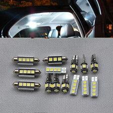 14 Weiß LED SMD Innenbeleuchtung Licht TÜV-FREI für BMW E90 328i 335I 4DR 05-11