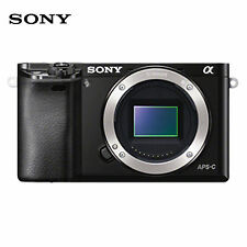 "SONY Alpha A6000 24.3 MP Digital Camera Quicker autofocus - Black ""Body Only"""