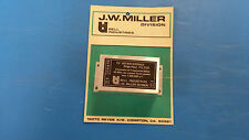 TV INTERFERENCE HIGH-PASS FILTER J.W. MILLER C-513-T3