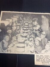 71-4 Ephemera 1957 Picture Children's Party P And Co Thanet