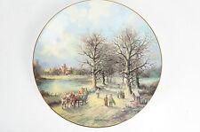 """Tirschenreuth Sammelteller """"Weihnachtliche Landschaften"""" H. E. Feldkamp 14"""