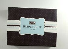"Stampin' Up Simply Sent Card Kit ""Three Thoughts"" Never Used 2006"