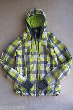 Lululemon Run Track & Field Jacket in Citron Coal Checkered Plaid 6
