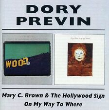 Mary C. Brown/On My Way To Where - Dory Previn (2001, CD NEUF)2 DISC SET