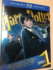 Harry Potter and the Sorcerer's Stone year 1 Blu-ray Disc Ultimate edition Mint