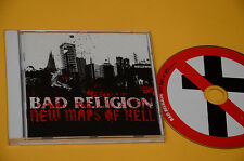 CD (NO LP ) BAD RELIGION NEW MAPS OF HELL ORIG CON LIBRETTO COME NUOVO EX+ !!!!