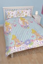 DISNEY FAIRIES TINKERBELL 'CHERISH' DOUBLE BED SET TV CHARACTER FAIRY