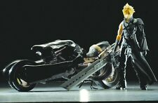 Final Fantasy 7 VII Advent Children Play Arts Cloud & Fenrir Figure