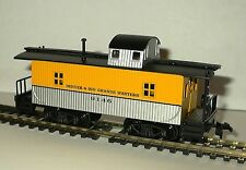 HO SCALE TRAINS MODEL POWER D&RG WOOD CABOOSE 9146