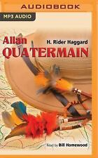 Allan Quatermain by H. Rider Haggard (2016, MP3 CD, Unabridged)