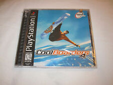 Cool Boarders 4 (Playstation PS1) Game Black Label, Brand New Sealed~
