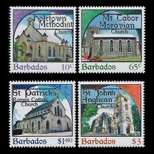 Barbados 2013 - Places of Worship Architecture Buildins Church - MNH