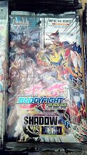 Future Card BuddyFight BFE H EB02 Extra Booster 2: Shadow VS Hero, Sealed Packs