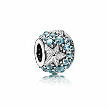 Authentic Pandora Oceanic Starfish Frosty Mint CZ Charm Bead 791905CZF