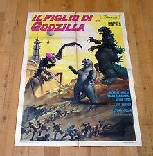 IL FIGLIO DI GODZILLA manifesto poster affiche Jun Fukuda Monster Gojira