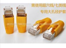 20pcs CAT6A CAT7 RJ45 Ethernet Network Cable Strain Relief Boots AWG23