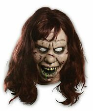 The Exorcist Regan Latex Mask Adult Evil Scary Horror Movie Demon Halloween