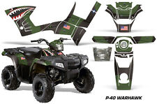 Polaris Sportsman 90 AMR Racing Graphic Wrap Kit Quad ATV Decals P40 WARHAWK