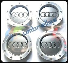 X 4 AUDI 146mm CENTRO RUOTA hub caps badge a2 a3 a4 a6 s6 rs6 TT, 8d0601165k