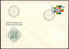 Liechtenstein 1967 EFTA FDC First Day Cover #C16550