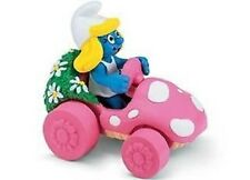 Schleich Smurfette in Car Toy Figurine by Schleich
