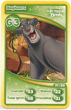 Morrisons Disney Trading Cards 2012: Bagheera from The Jungle Book (G3)