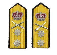 Epaulettes Vice Admiral Shoulder Boards Press Stud & Strap at Back R1033