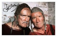 JOHN CLEESE & MICHAEL PALIN AUTOGRAPHED SIGNED A4 PP POSTER PHOTO