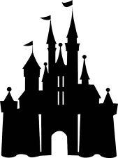 Cinderellas Castle, Disney Vinyl Sticker, Children, Fairy Tale #531