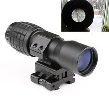 Popular 4X Magnifier FTS Flip To Side For Eotech Aimpoint Similar Scopes Sights