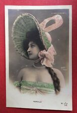 CPA. Artiste MARVILLE. Moulin Rouge. Walery. Années 1900.