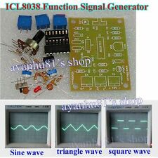 DC 12V ICL8038 Signal Generator Module Sine Square Triangle Wave Output Kits