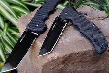 Cold Steel 2014 Recon-1 Folding Tanto 50/50 Edge XHP STEEL 27TLCTH **VERY RARE**