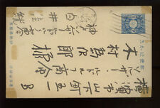 Japan 1916 1.5s Stationery Card Used #432