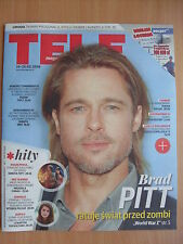 BRAD PITT on front cover TELE MAGAZYN 7/2016 Benedict Cumberbatch,Keanu Reeves