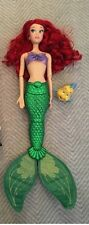 Disney Ariel The Little Mermaid Deluxe Feature Singing Doll - 18'' H