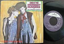 DEXYS MIDNIGHT RUNNERS & THE ESMERALD EXPRESS SINGLE MADE IN PORTUGAL 45 PS 7