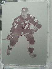 2012-13 12-13 Prime Dominion Steven Stamkos Printing Plate 1 of 1 1/1