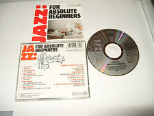 JAZZ FOR ABSOLUTE BEGINNERS - 12 TRACK EARLY PRESS CD -1986-UK FREE FASTPOST