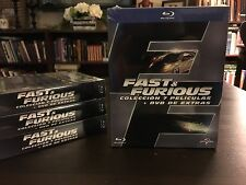 Fast And Furious Complete 1-7 Movie Collection On Blu-Ray- Brand New