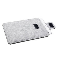 Woolen Felt Sleeve Pouch Bag Case Protect Cover for Amazon Kindle Fire HD 8 Gray