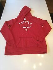 Women's Red Abercrombie & Fitch Hoodie