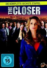 THE CLOSER : COMPLETE SEASON 6 (Kyra Sedgewick)  -  DVD - PAL Region 2 - New