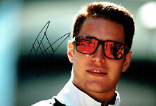 Stoffel VANDOORNE SIGNED Autograph F1 McLAREN Driver Portrait Photo AFTAL COA