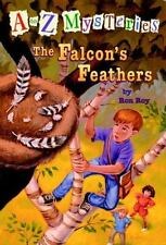A to Z Mysteries: The Falcon's Feathers (A Stepping Stone Book(TM))-ExLibrary