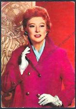 GREER GARSON 12 ATTRICE ACTRESS CINEMA MOVIE STAR PEOPLE 1966 Cartolina
